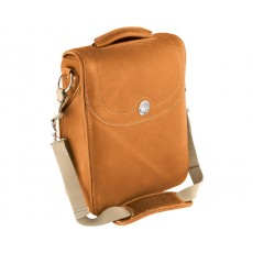 Genuine Leather 메신저 백 - Desert Tan