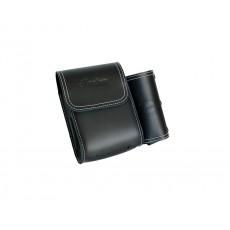 Genuine Leather 리어 하이웨이바 백 - Black
